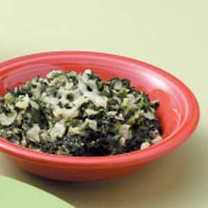 Quick Creamy Spinach Recipe