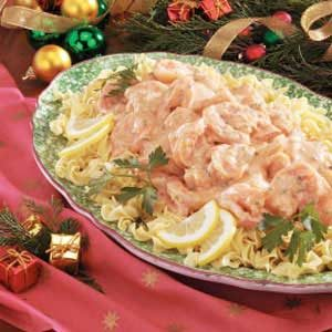 Shrimp in Cream Sauce Recipe
