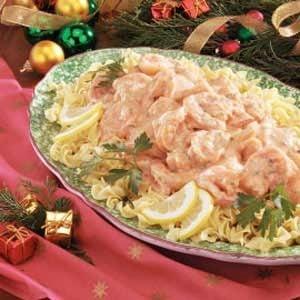 Shrimp in Cream Sauce Recipe