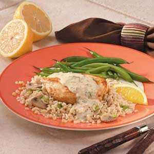 Lemon Chicken 'n' Rice Recipe