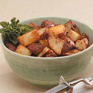 Spicy Roasted Potatoes Recipe