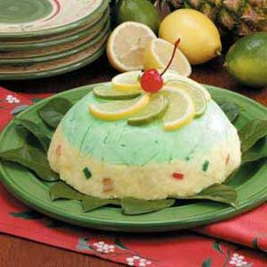Jeweled Sherbet Mold Recipe