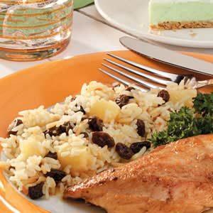 Fruited Rice Pilaf Recipe