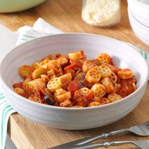 Pizza-Flavored Pasta Sauce Recipe