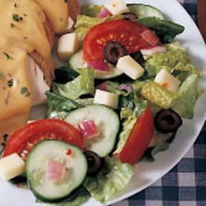 Quick Tossed Salad Recipe