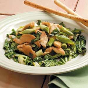 Stir-Fried Basil Chicken Recipe