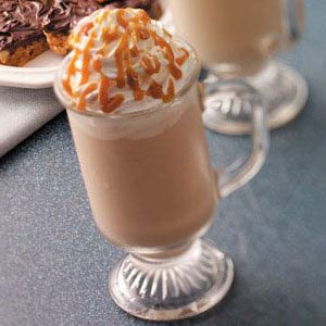 Frosty Caramel Cappuccino