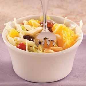 Orange Fruit Slaw Recipe