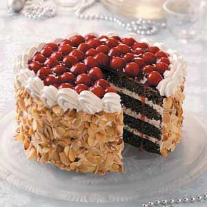 black forest chocolate torte recipe taste of home