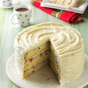 White Chocolate Christmas Torte