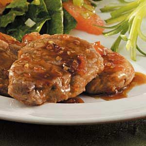 Glazed Pork Medallions