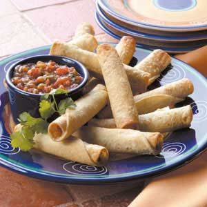 Taquitos with Salsa Recipe