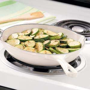 Garlic Oregano Zucchini Recipe