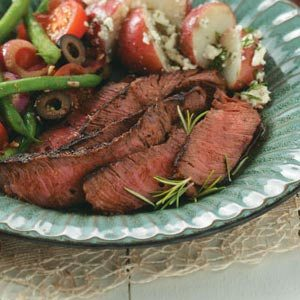 Easy Marinated Sirloin Steak