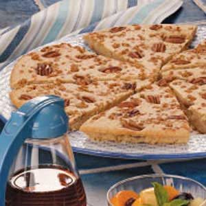 Pecan Pancake Pizza Recipe