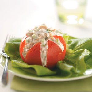 Tuna Salad in Tomato Cups Recipe