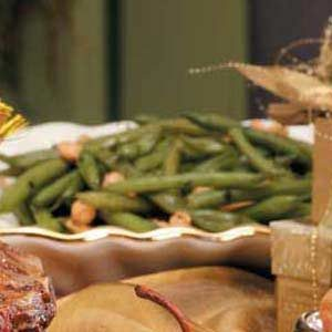 Green Beans with Cashews Recipe