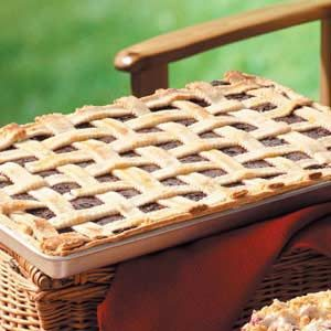 Lattice Blackberry Bars