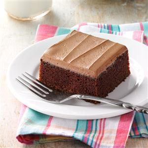 Mocha Frosted Snack Cake Recipe