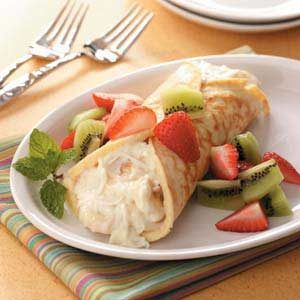 Fruity Dessert Crepe Recipe