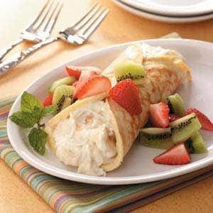 Fruity Dessert Crepe Recipe