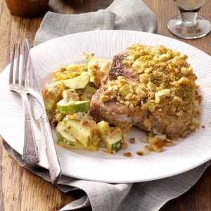 Zucchini Pork Chop Supper Recipe