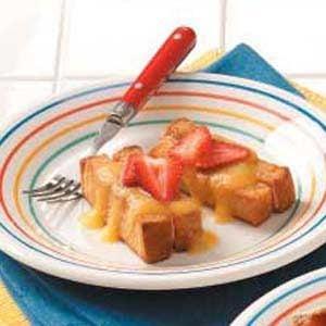 Jazzed-Up French Toast Sticks Recipe