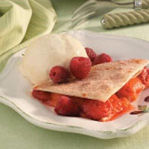 Fruit-Filled Quesadillas Recipe
