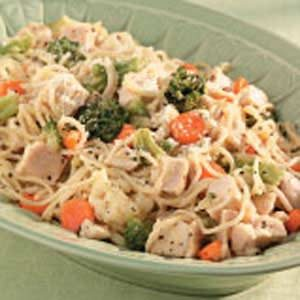 Pasta Primavera with Chicken Recipe