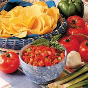 Microwave Salsa Recipe