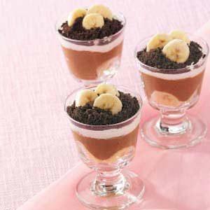 Banana Chocolate Parfaits Recipe