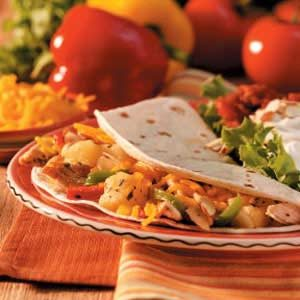 Pineapple Chicken Fajitas Recipe