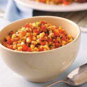 Corn 'n' Red Pepper Medley Recipe
