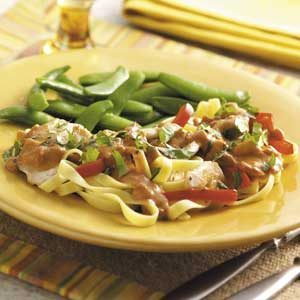 Thai Chicken Fettuccine Recipe