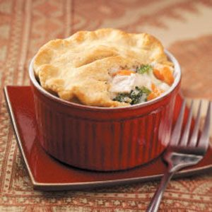 Individual Chicken Potpies Recipe