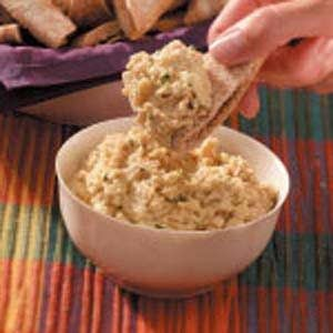 Quick Garlic Bean Dip Recipe