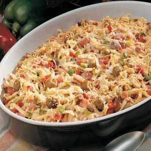 Ham and Chicken Casserole