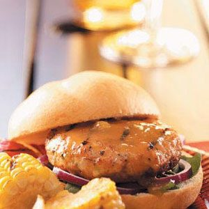 Chutney Turkey Burgers Recipe