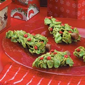 Holiday Spruce Cookies Recipe