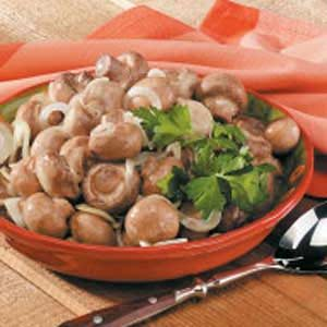 Mark's Marinated Mushrooms