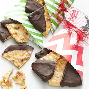 Chocolate Almond Brittle Recipe