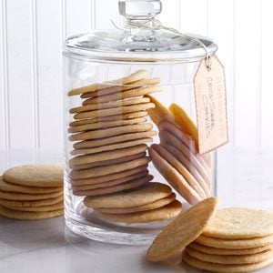 Crisp Sugar Cookies Recipe