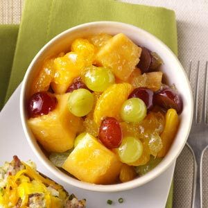 Grape Melon Medley Recipe