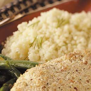 Lemon Dill Couscous Recipe