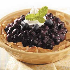Bird's Nest Blueberry Strudel Recipe