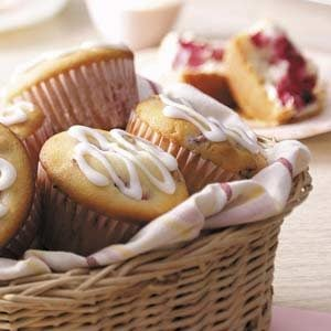 Cream Cheese Raspberry Muffins Recipe