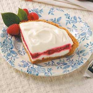 Lemon-Raspberry Ribbon Pie Recipe