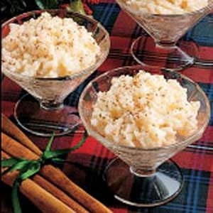 Christmas Rice Pudding