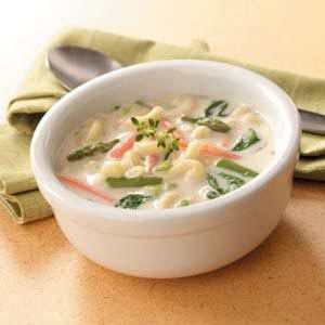 Creamy Spring Soup Recipe