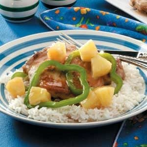 Sweet-and-Sour Chops Recipe